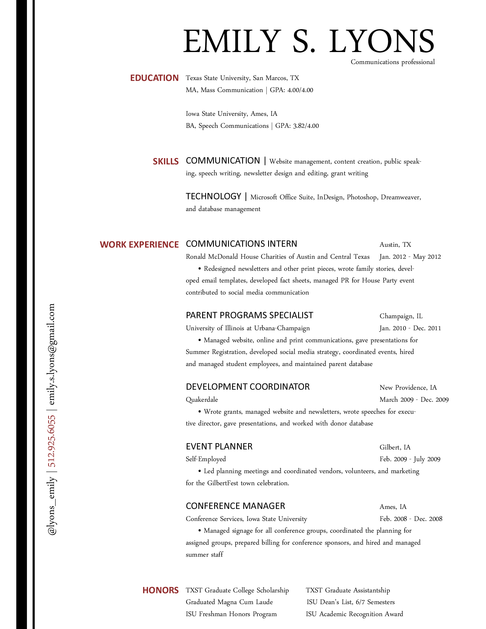 Excellent Communication Skills Resume Example The Communications Resume Blossoming Communications