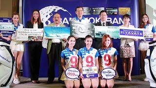Press Conference Bangkok Bank Golf Tournament 2014 - Apr 30, 2014 @ The Royal Gems Golf Resort