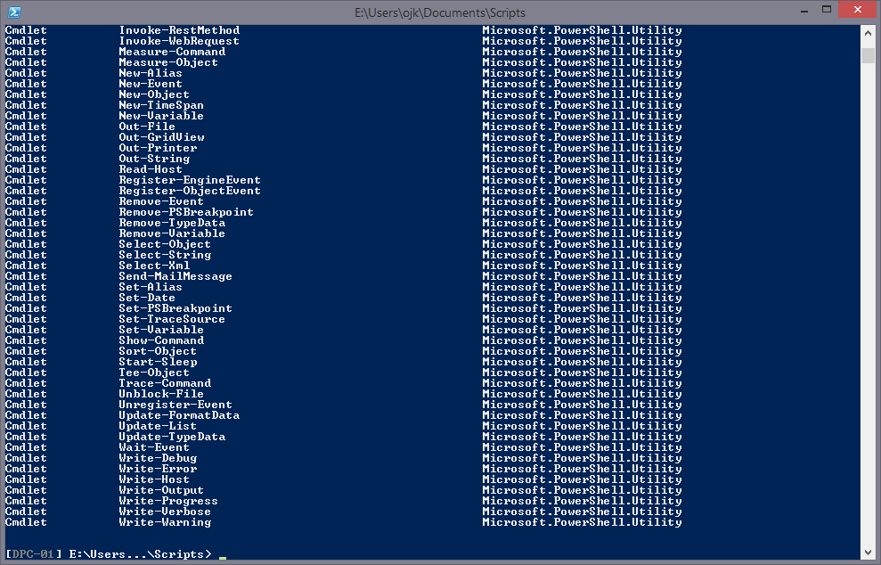 The Holy Trinity of PowerShell Cmdlets  Communary