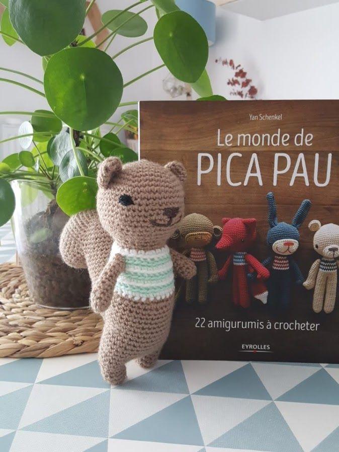 Le Monde De Pica Pau : monde, Débuts, Crochet, Premiers, Amigurumis, Cultura