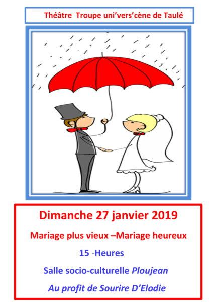 Mariage Pluvieux Mariage Heureux Theatre : mariage, pluvieux, heureux, theatre, Uni'Vers'Cène, Mariage, Vieux, Heureux, Commune, Taulé