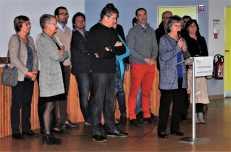 Cérémonie des voeux 2017 - Le conseil communal 1/2