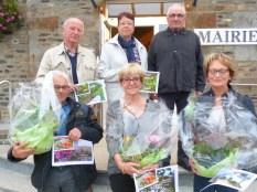 Remise des prix du concours des maisons fleuries et potagers - octobre