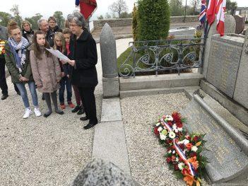 Cérémonie du 8 mai - Lecture du message du secrétaire d'Etat chargé des anciens combattants et de la mémoire
