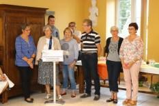 Cérémonie de remise des prix des concours des maisons fleuries et potagers 2018