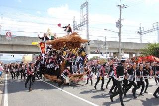 岸和田だんじり祭2018の日程と有料席の購入方法は?おすすめの観覧場所はココ