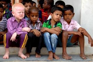 Alumnos de la Escuela Inclusiva