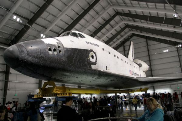 Evocative Endeavour Space Shuttle