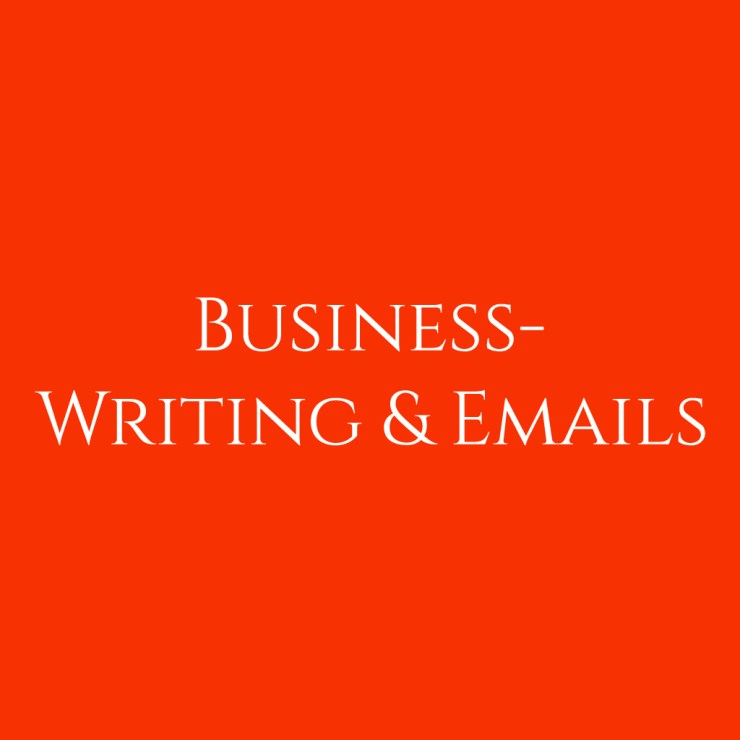 business writing emails