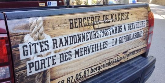 Semi covering coffre Bergerie de Kakisse à Belvédère
