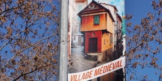 Kakemonos Mairie de Saint Martin Vésubie