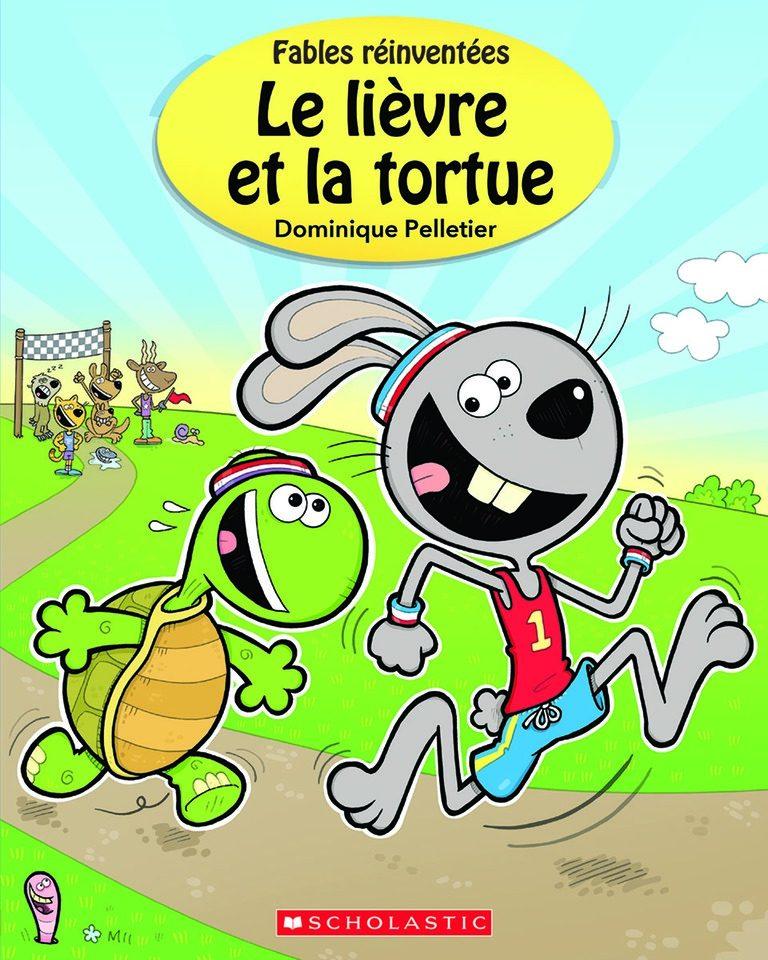 Le Livre Et La Tortue : livre, tortue, Communication, Jeunesse, Lièvre, Tortue