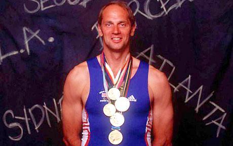 Sir Steve Redgrave 5X gold medalist