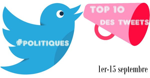 Top10 tweets politiques