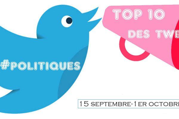 top10 Twitter politique