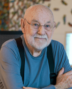 Eric Carle. Photo by Jim Gipe