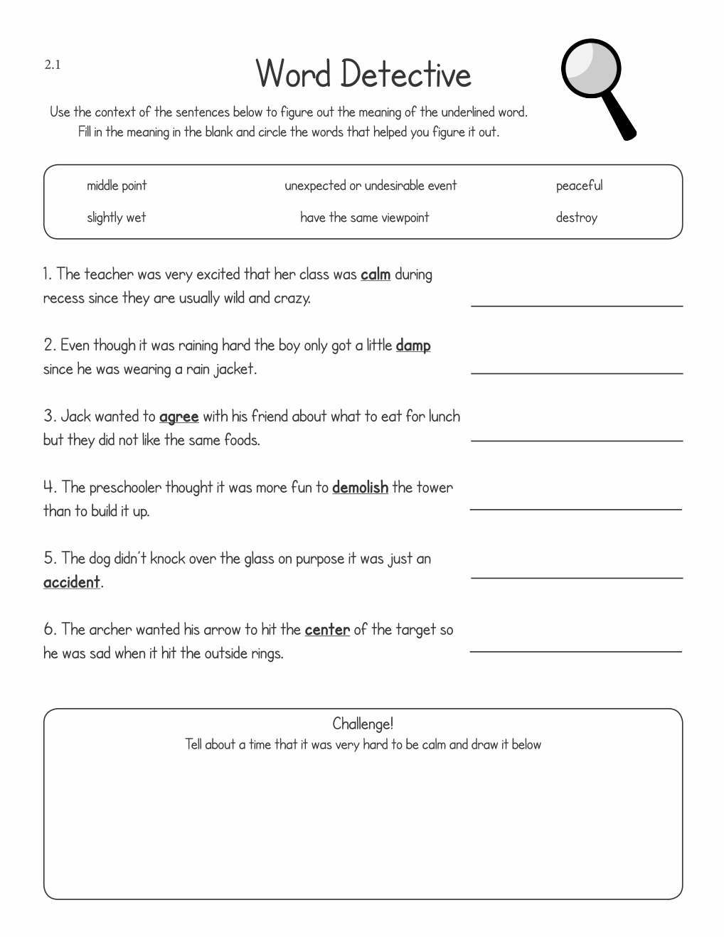 hight resolution of Tier Two Vocabulary Activities for Second and Third Graders   The  Communication Window