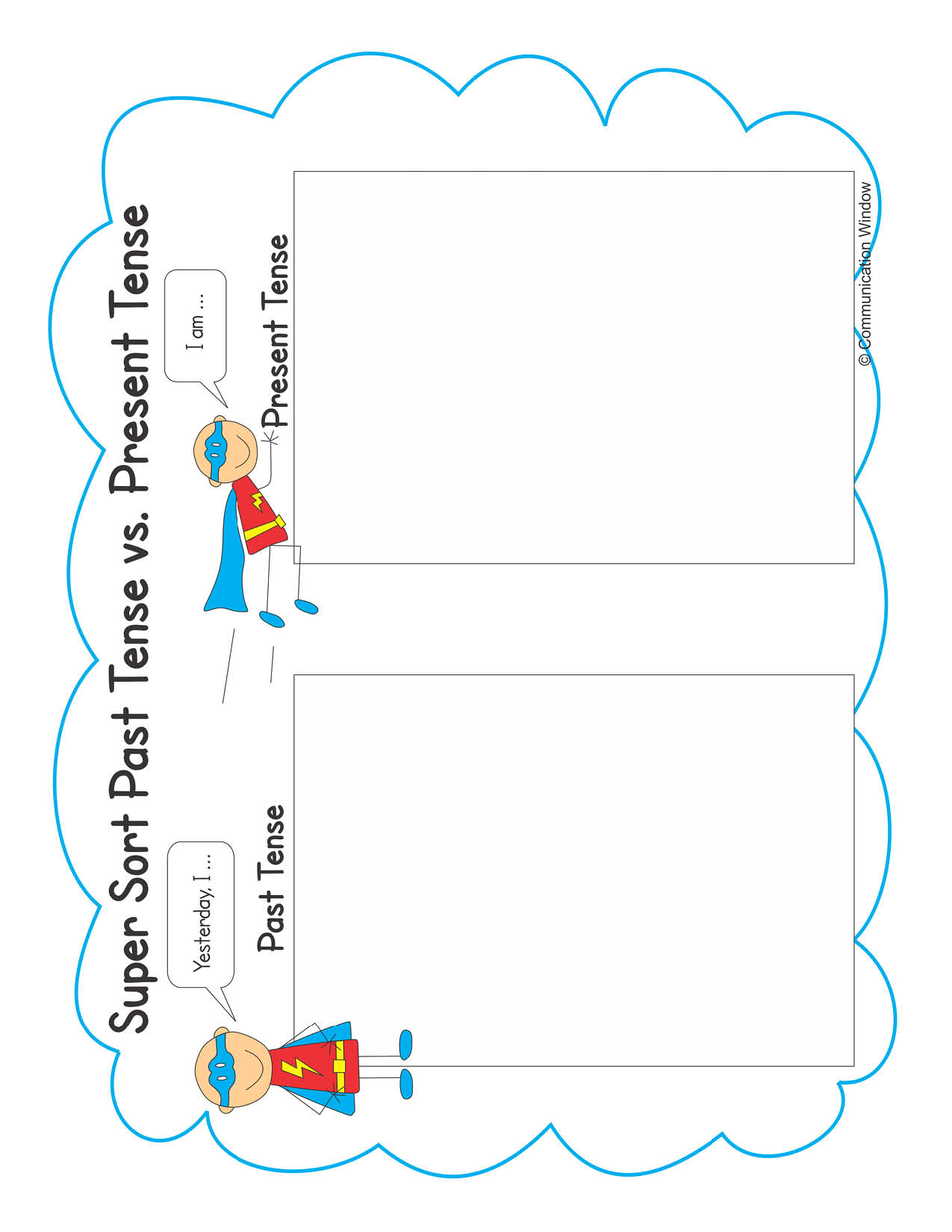hight resolution of Past tense speech therapy   The Communication Window