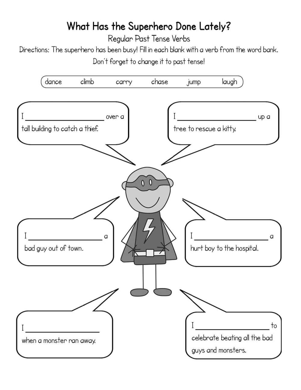medium resolution of Past tense speech therapy   The Communication Window