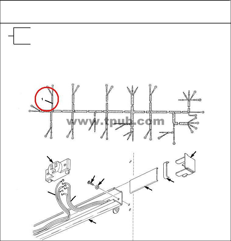 5995-00-179-5580 Wiring Harness, Branched