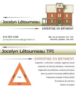 Jocelyn Létourneau EXPERTISE EN BÂTIMENT