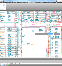 after launching the software when i open an externally referenced dwg saved in autocad 2010 version the junctions and the pipes i put in are too large  [ 1600 x 900 Pixel ]