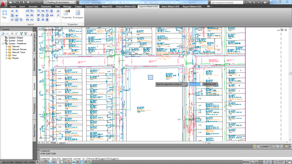 medium resolution of after launching the software when i open an externally referenced dwg saved in autocad 2010 version the junctions and the pipes i put in are too large