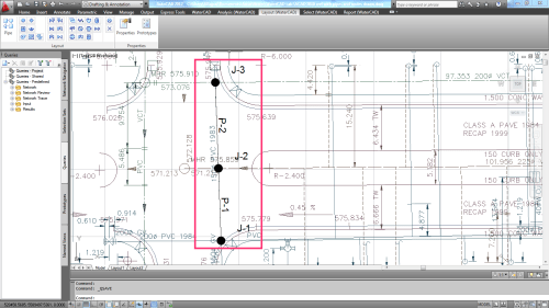 small resolution of what is the method of changing element junction pipe etc and labels j 1 p 4 etc in watercad v8i for autocad civil 3d 2012