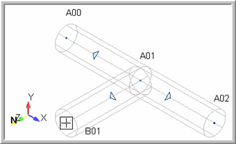 16. How does AutoPIPE components look in Single-Line, Wire