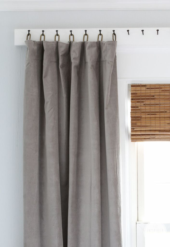 15 Ways to Creatively Hang Your Condo Curtains