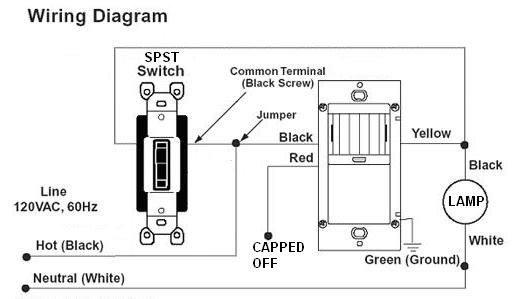 Motion Light Wiring Diagram