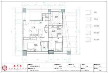 CAD專業工程製圖2D室內設計成果發表-11陳富田