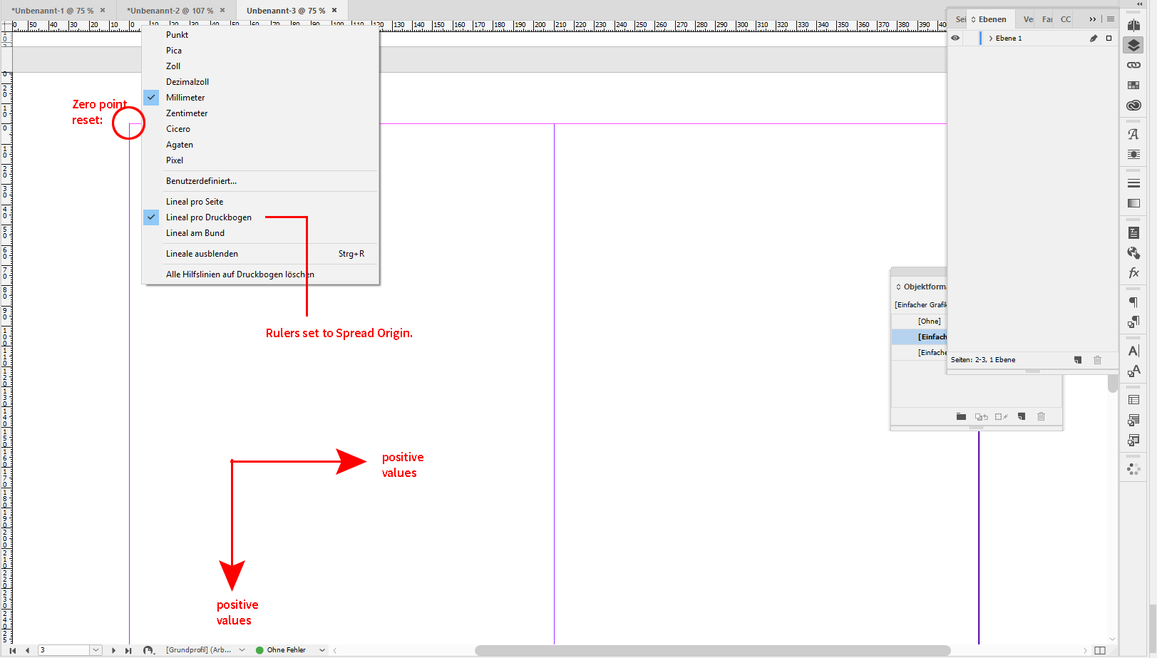 Need help resetting ruler zero-point InDesign CC 2
