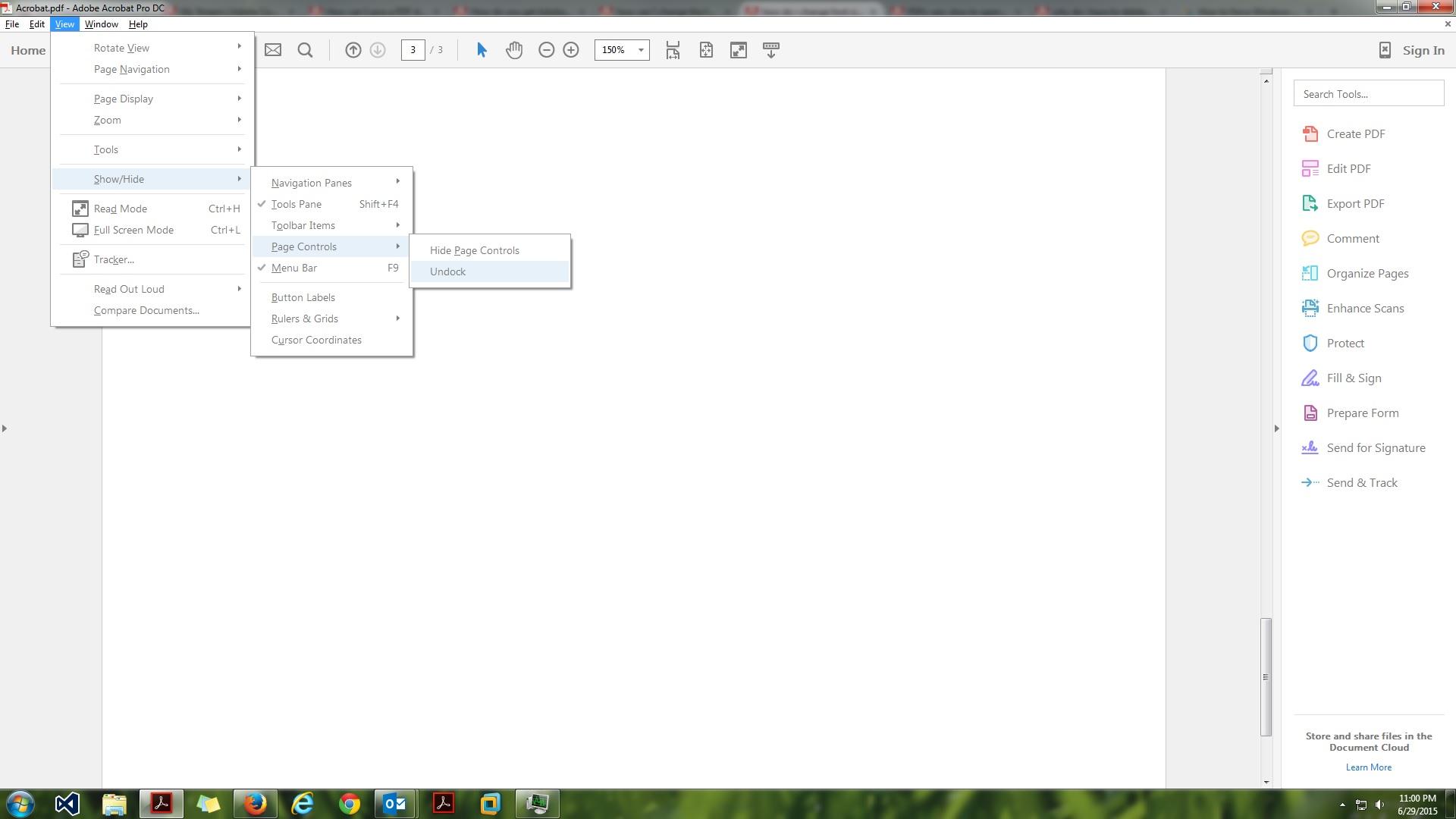 Solved How Do I Change Font Size In Adobe Acrobat Reader