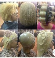 natural curls roller set - black