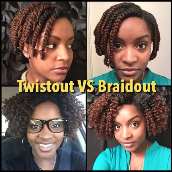 Twist Out vs Braid Out  Black Hair Information Community