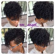 tapered fro roc angel - black