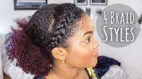 Braided Hairstyles For Black Women Quick Black Braided ...