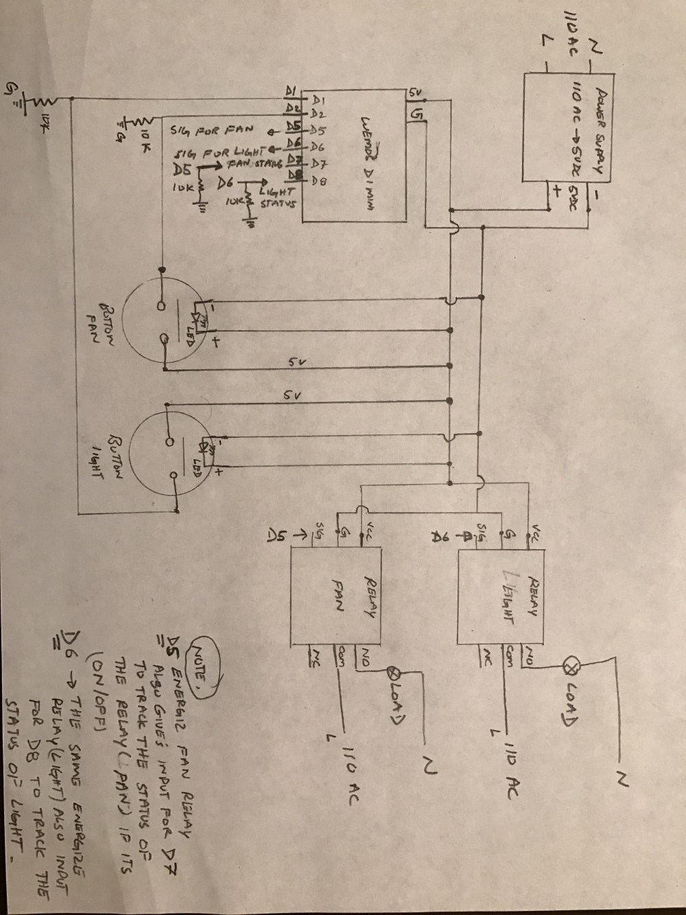 medium resolution of hello brother this is the circuit diagram sorry i did it the old style draw it with my hand i don t have the app for the circuit designer if u have