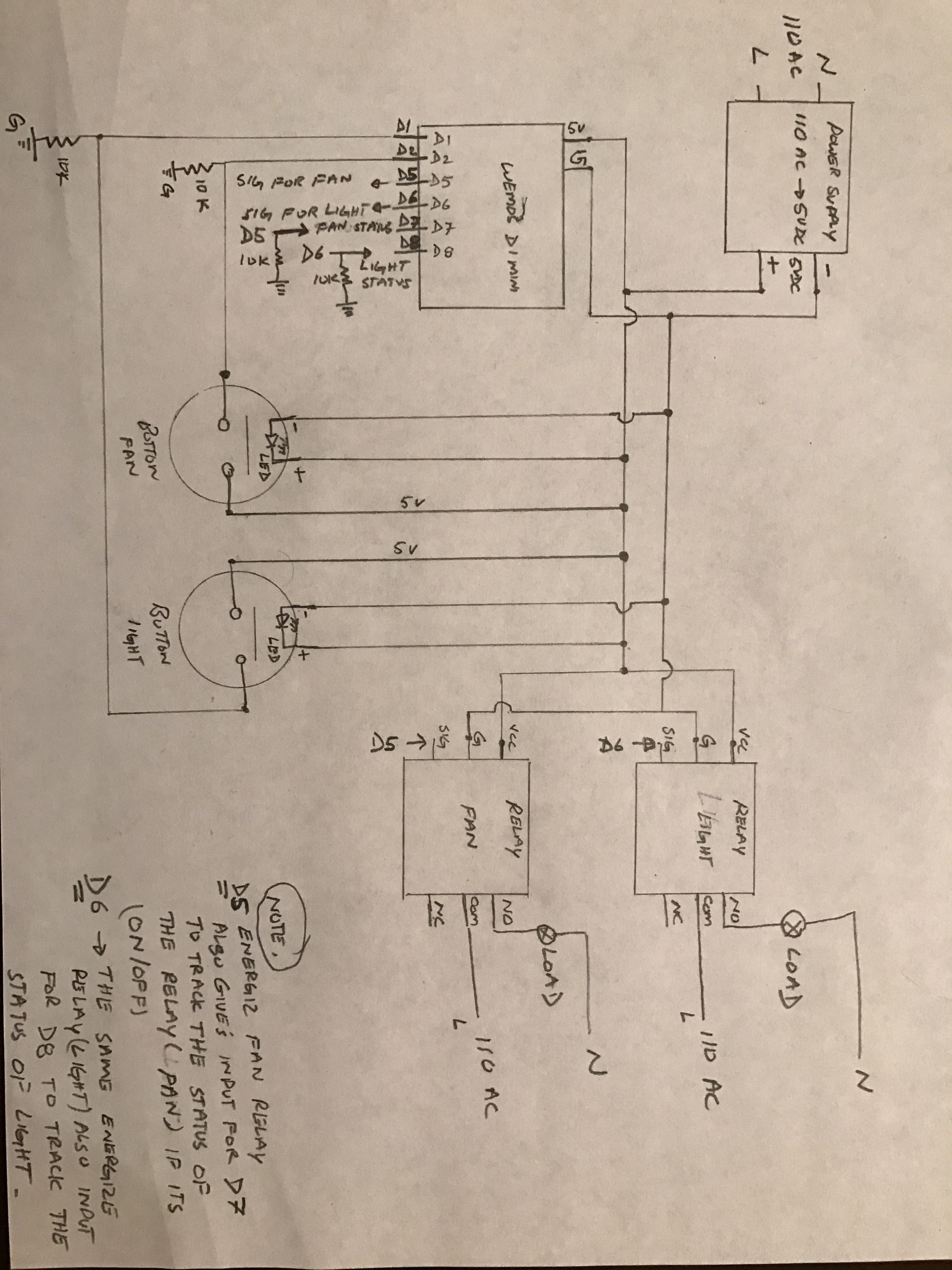 hight resolution of hello brother this is the circuit diagram sorry i did it the old style draw it with my hand i don t have the app for the circuit designer if u have