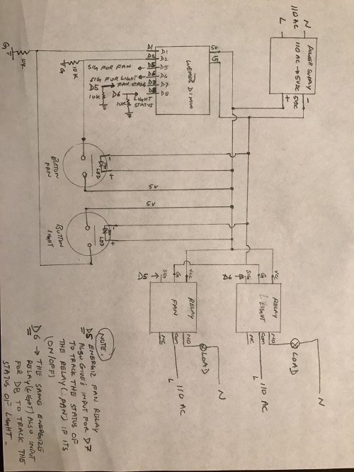 small resolution of hello brother this is the circuit diagram sorry i did it the old style draw it with my hand i don t have the app for the circuit designer if u have
