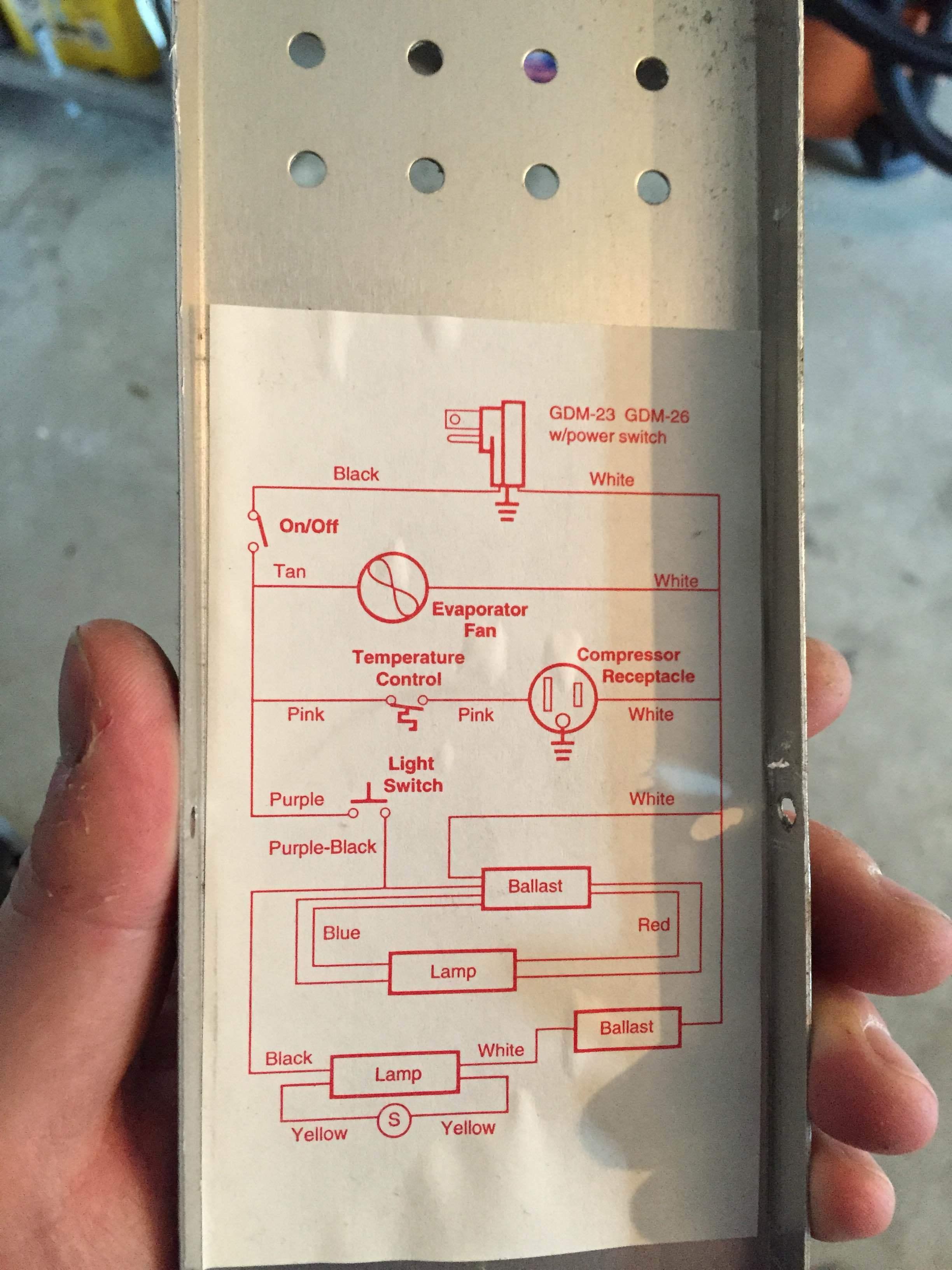Wiring Diagram True T 23 Freezer True Freezer T 23f Wiring Diagram