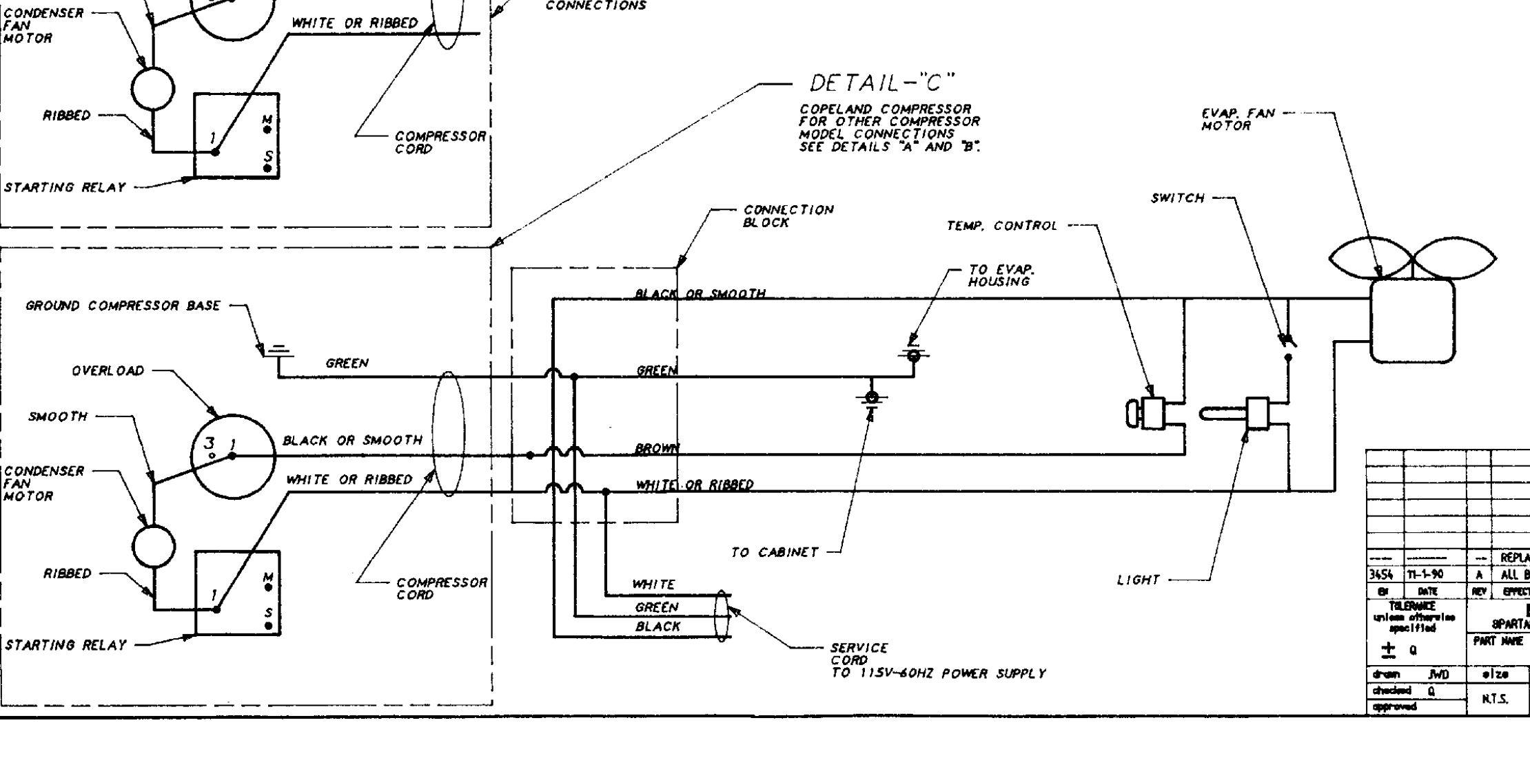 Need Help With Wiring My Fridge
