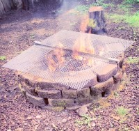 Foodie Friday: Wood Fire Pit Grilling - Brown Paper ...