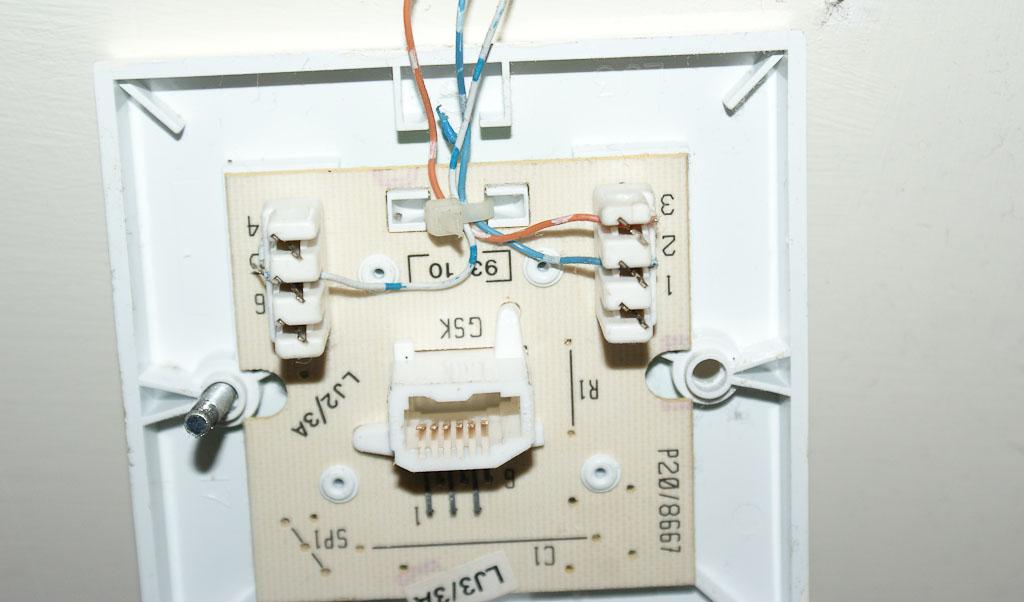 Telephone Master Socket Wiring