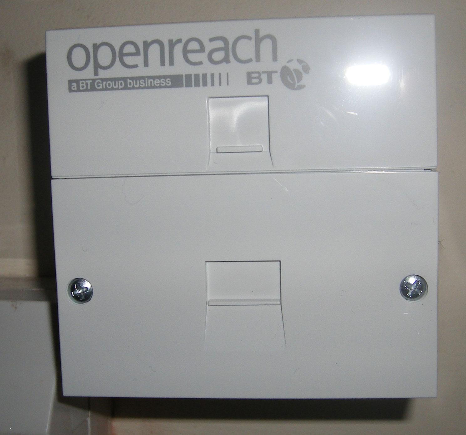 hight resolution of openreach master socket mk1 or mk2