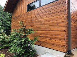 cedar siding installation failure
