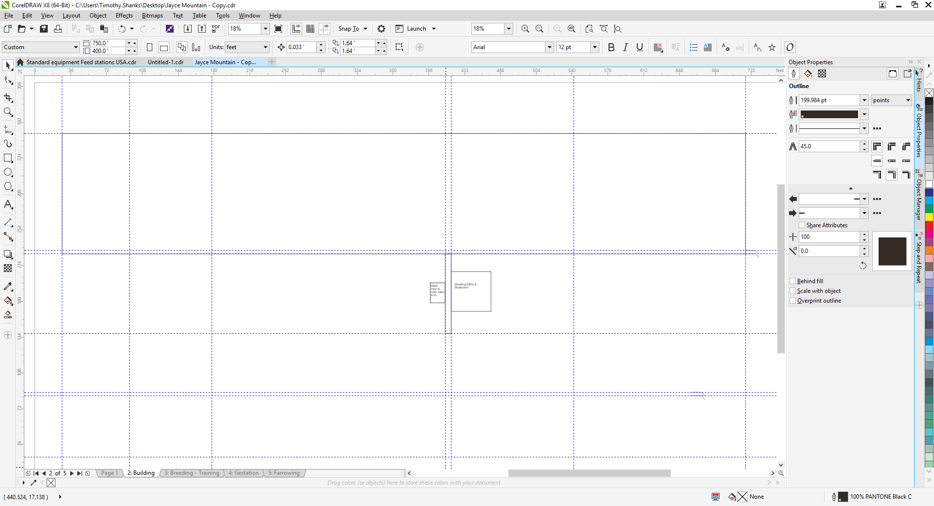 Merge Pages within a CorelDraw file or print all of the