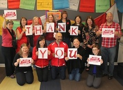 Thank you, from the David Suzuki Foundation Team