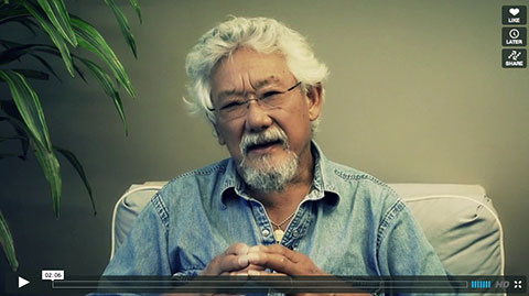 WATCH VIDEO: David Suzuki explains the link between carbon emissions and more frequent and intense extreme weather brought on by climate change.